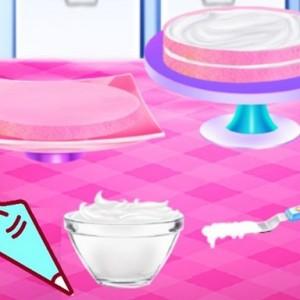 لعبة تحضير الكيكة